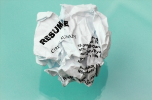 resume crumpled