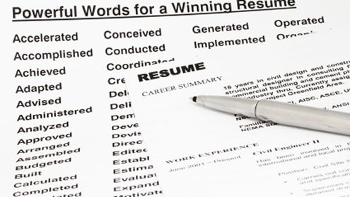 In A Lot Of Ways, Writing A Resume Is Like Writing A Website: Content Is  Paramount, And You Never Want To Detract From The Story Youu0027re Tellingu2014but  At The ... Ideas Key Words For Resumes